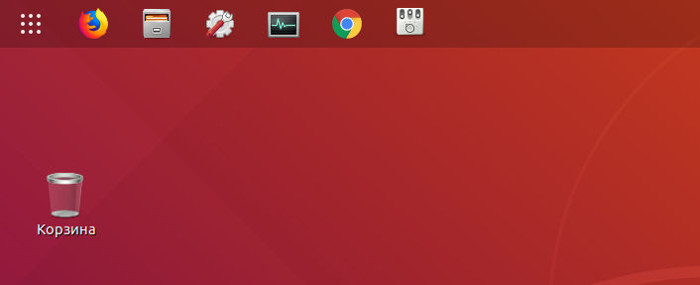 Gnome Shell extension Dock to panel